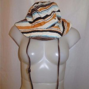 MALO STRIPED MULTI COLOR HAT M